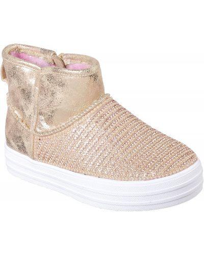 Ботинки розовый спортивные Skechers