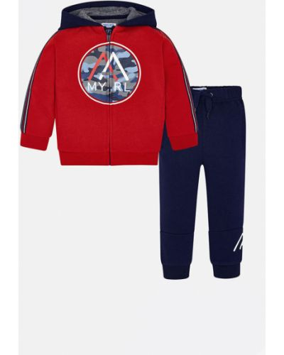 Спортивный костюм красный прямой Mayoral