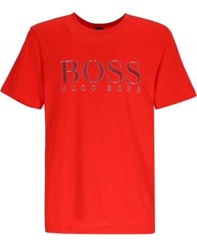 T-shirt z printem Boss Hugo Boss