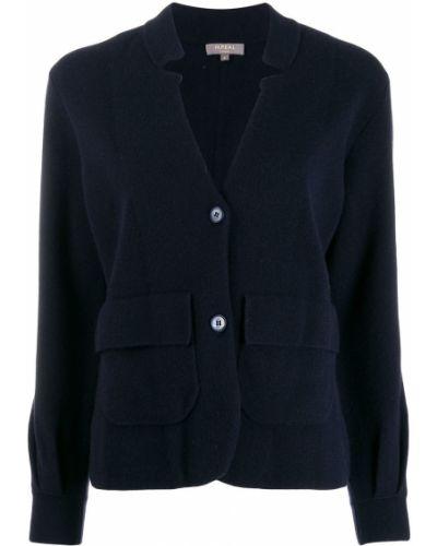 Удлиненный пиджак с карманами N.peal