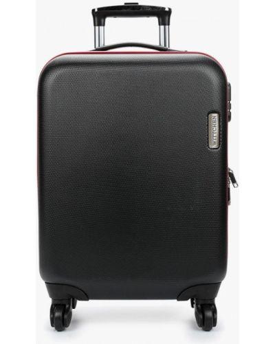 Черный чемодан Wittchen