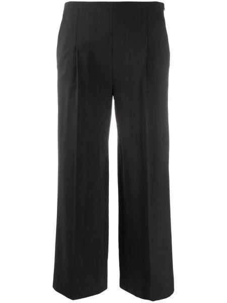 Укороченные брюки с лампасами со штрипками Chalayan