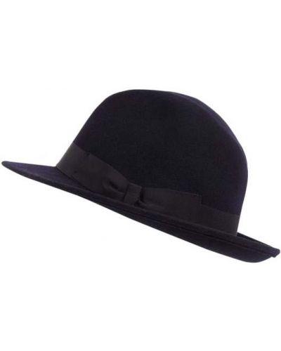 Niebieski kapelusz wełniany Müller Headwear
