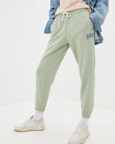 Зеленые спортивные брюки Gap