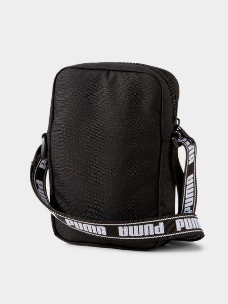 Сумка через плечо с поясом - черная Puma