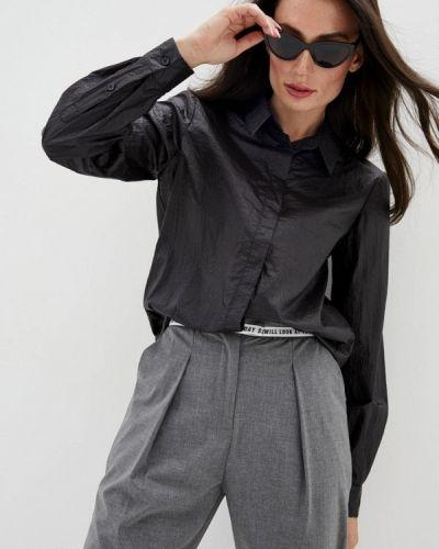 Черная рубашка с длинными рукавами Frankie Morello