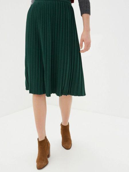 Зеленая плиссированная юбка Sewel