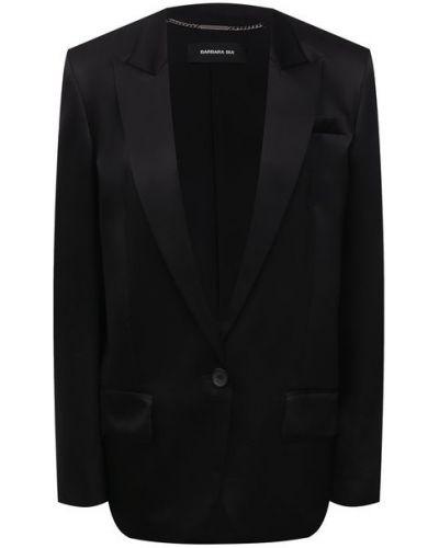 Шелковый пиджак с подкладкой Barbara Bui