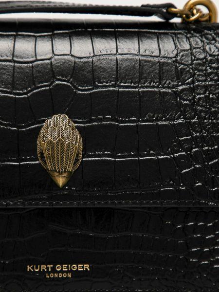 Кожаная сумка Kurt Geiger London