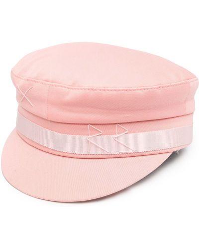 Bawełna bawełna różowy czapka z daszkiem z haftem Ruslan Baginskiy