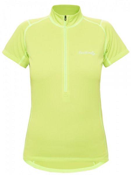 Зеленая футбольная спортивная футболка с карманами на молнии Red Fox