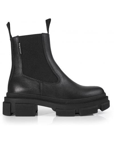 Кожаные ботинки - черные Barbilioni