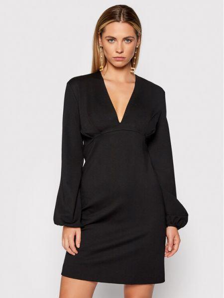 Czarna sukienka casual Liviana Conti