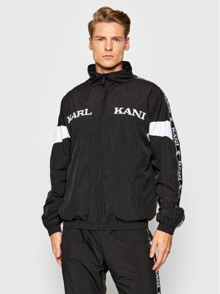 Czarna kurtka vintage Karl Kani