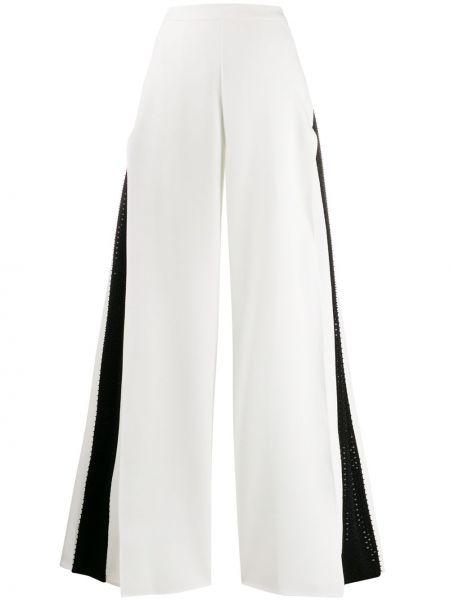 Свободные брюки с пайетками с поясом свободного кроя на молнии Avaro Figlio