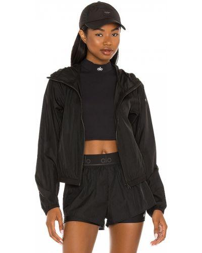 Черная спортивная куртка Alo