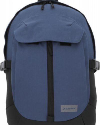 Синий рюкзак для ноутбука на бретелях Demix
