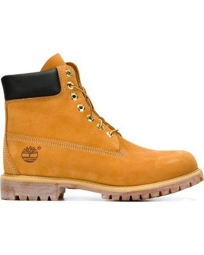 Ботинки на шнуровке кожаные Timberland