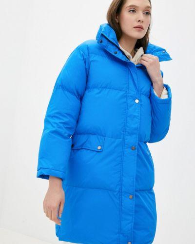 Утепленная синяя куртка On Parle De Vous