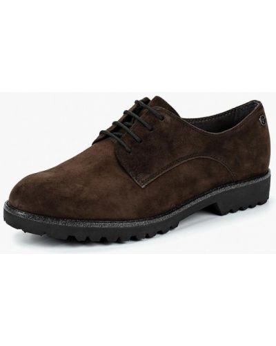 Коричневые ботинки осенние Tamaris