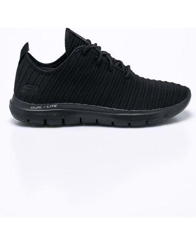 Кроссовки текстильные черные Skechers