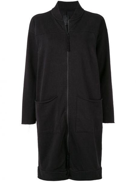 Черная длинная куртка Thom Krom