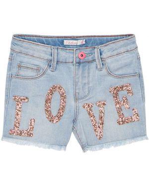 Синие джинсовые шорты Billieblush