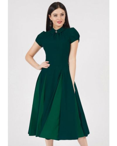 Вечернее платье зеленый Grey Cat