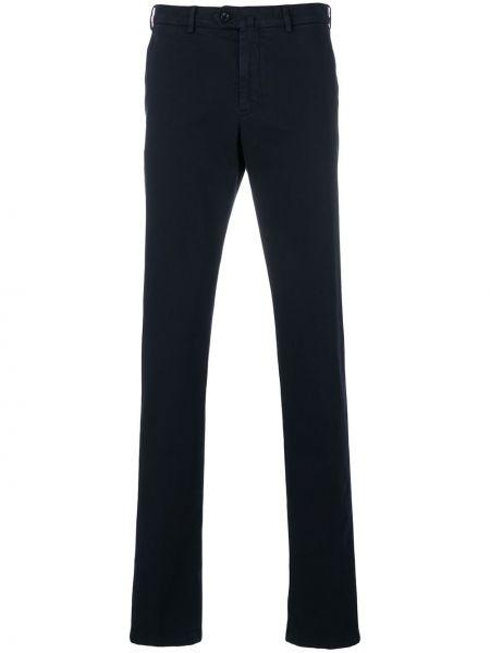 Niebieskie spodnie bawełniane Loro Piana