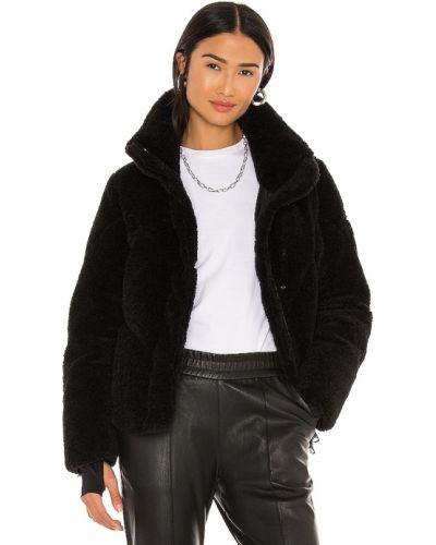Куртка с капюшоном - черная Sam.