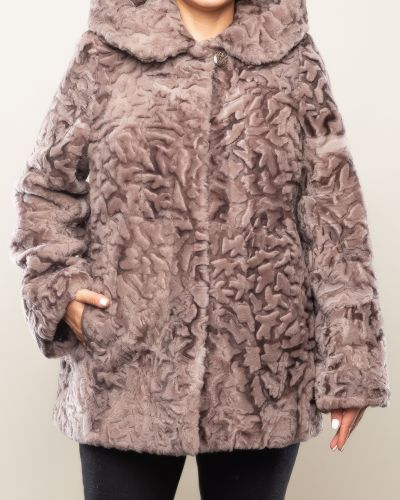 Куртка с капюшоном - бежевая Dzhanbekoff
