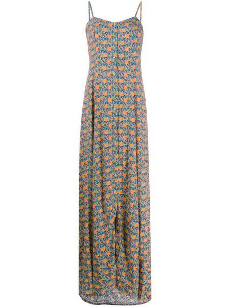 Sukienka w kwiaty z guzikami C'est La V.it