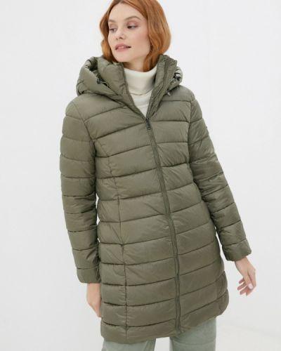 Зеленая утепленная куртка Baon