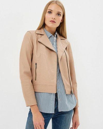 Осенняя куртка кожаная Armani Exchange