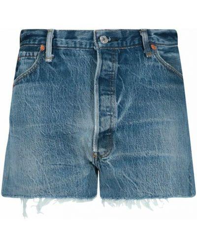 Szorty bawełniane - niebieskie Re/done