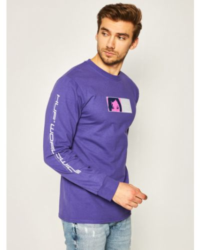 Fioletowa bluza Huf