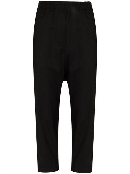 Przycięte spodnie spodnie chuligańskie wełniane Nili Lotan