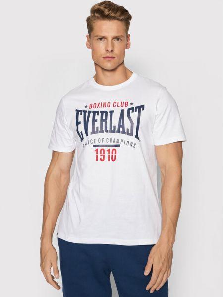 Biała t-shirt Everlast