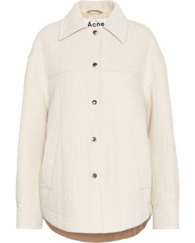 Утепленная куртка стеганая из альпаки Acne Studios