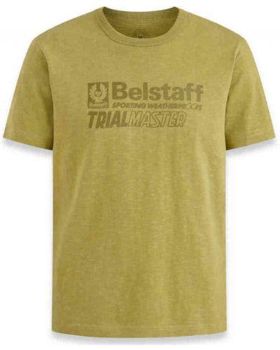 Zielona t-shirt Belstaff