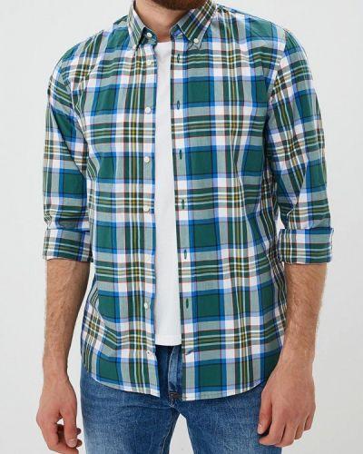 Зеленая рубашка с длинным рукавом Tommy Hilfiger