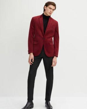 Пиджак бархатный с карманами Mango