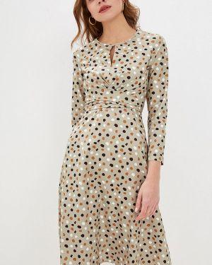 Платье прямое зеленый Fashion.love.story