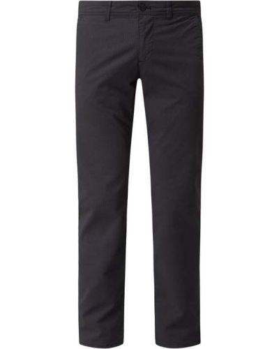 Czarne spodnie bawełniane Mcneal
