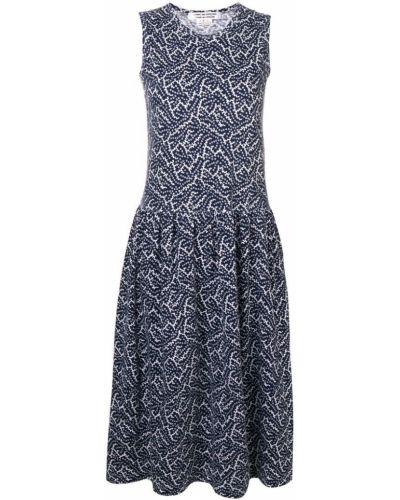 Платье миди винтажная с заниженной талией Comme Des Garçons Vintage