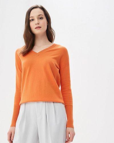 Оранжевый пуловер 2018 Rodier