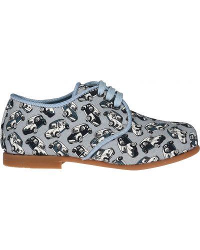 Туфли замшевый синие Dolce & Gabbana