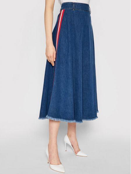 Spódnica jeansowa - niebieska Liu Jo
