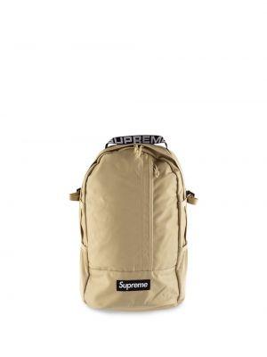 Czarny plecak miejski klamry Supreme