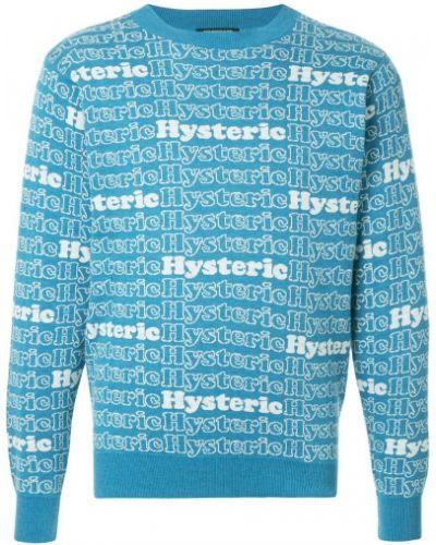 Свитер синий Hysteric Glamour